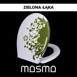 Deska sedesowa uniwersalna, zdobiona Zielona Łąka