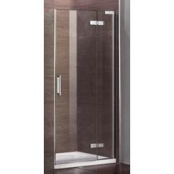 Drzwi prysznicowe TINOS 90x185 cm lewe/prawe szkło PRZEŹROCZYSTE